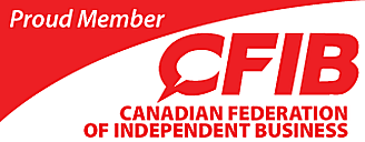The Canadian Federation of Independent Business is Canada's largest association of small- and medium-sized businesses. As a matter of policy, CFIB does not endorse or promote the products and services of its members.